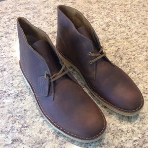 Clarks Desert Boot Chukka Beeswax Leather 8e5f998ca863